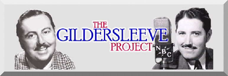 The Gildersleeve                           Project